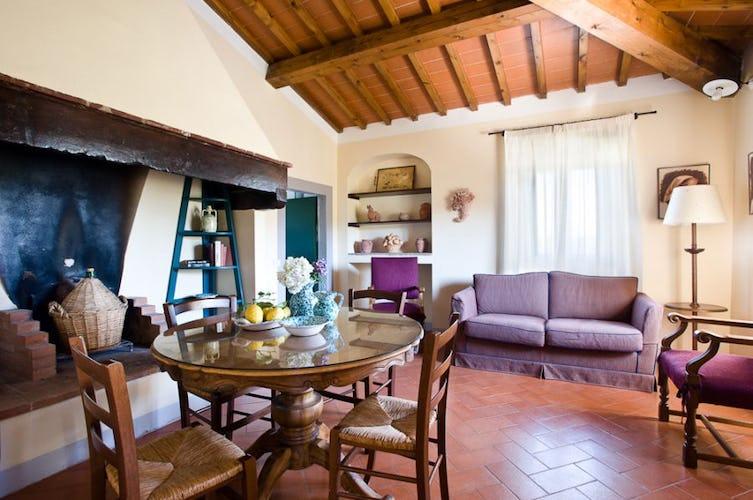 Camino apartment, living room