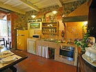 Fully equipped kitchens for families of all sizes at Villa Cafaggiolo