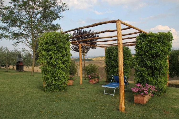 Zona barbeque villa Siena