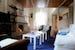 Accommodation in villa Siena, fireplace