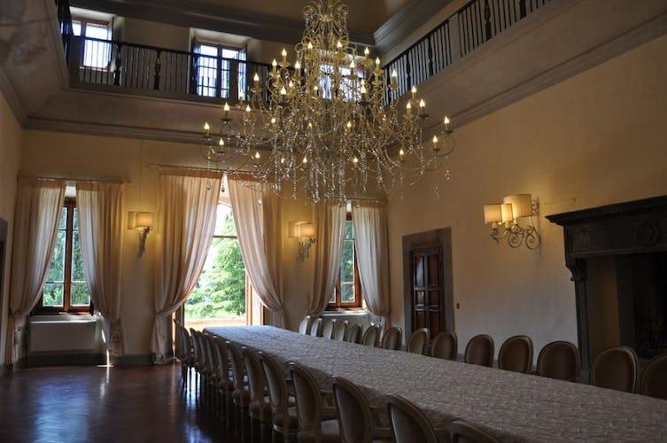 La meravigliosa sala da pranzo