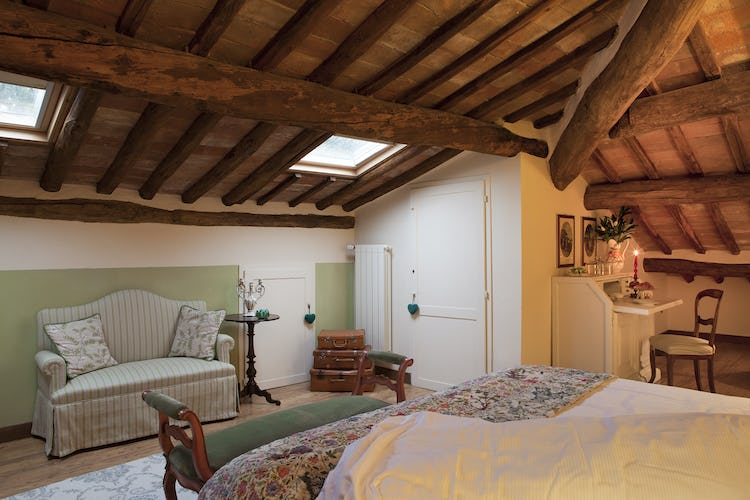 Villa Fillinelle: Double bedroom