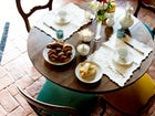 Home made breakfast is available for B&B guests at Villa Fillinelle
