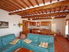 Villa Montegufoni ground floor includes a large common area