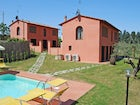 At Villa Montegufoni there is a shared pool and garden area
