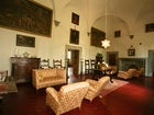 16th century Tuscany villa with antique furnishing at Villa il Turco