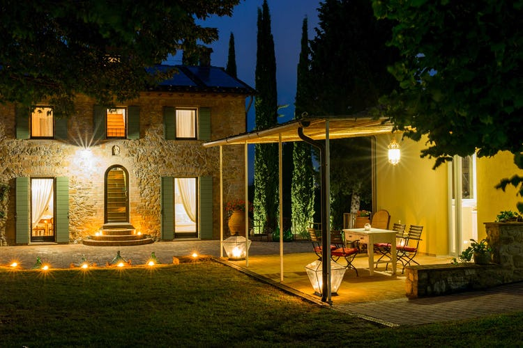 Villa La Fonte - Atmosfera romantica per cene a lume di candela