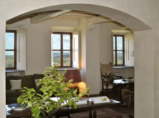 Holiday Apartment in Chianti at Villa La Medicea