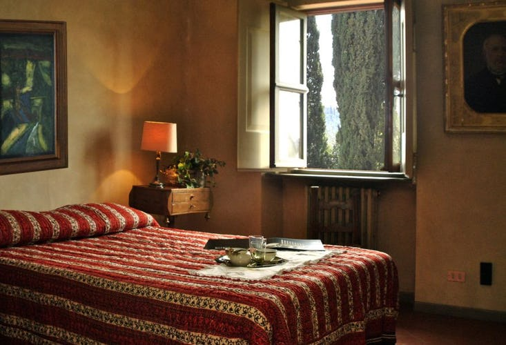 Sleeping at Villa La Medicea Chianti Countryside