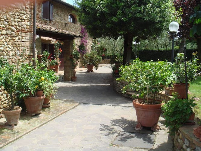 Characteristic Chianti Country House