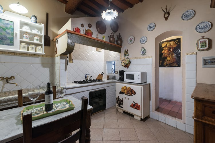 Villa Lysis - forno a microonde