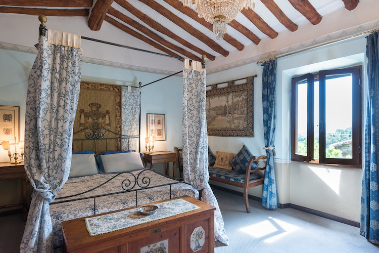 Villa Lysis - bedrooms are provided with air conditioning