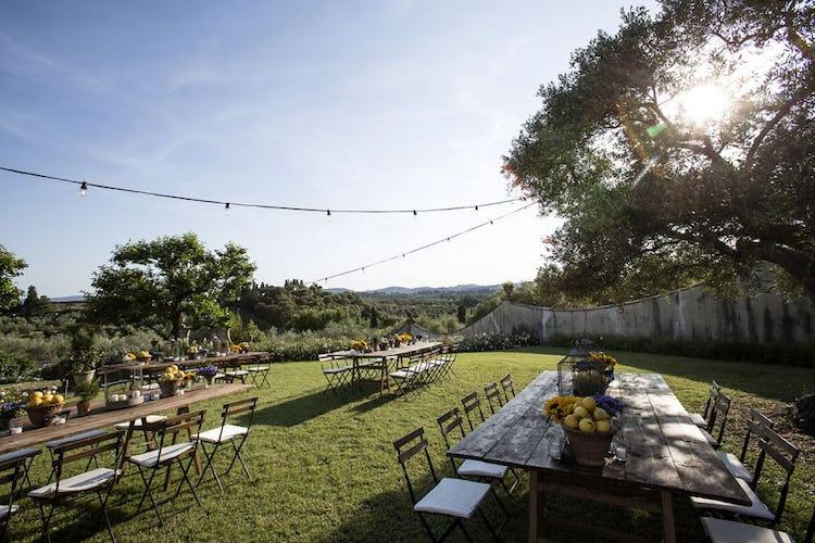Elegante o rustico, lo stile dellla villa incarna l'essenza di Toscana