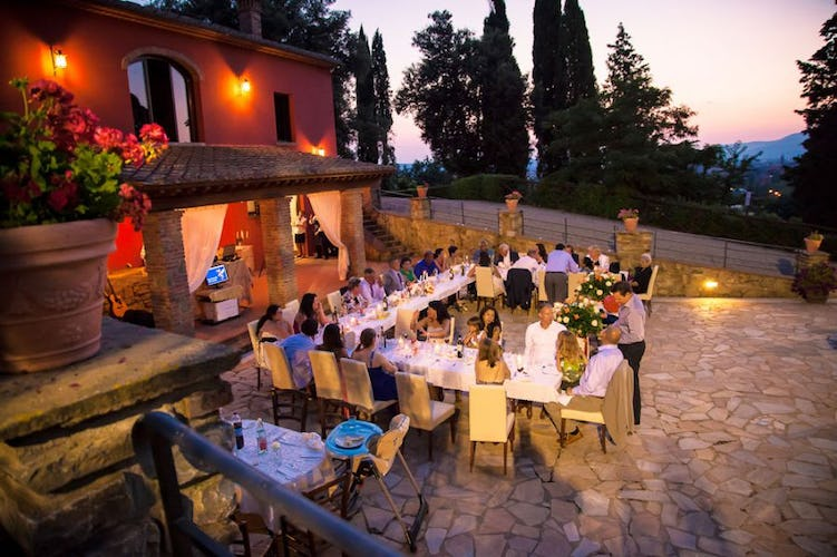Villa Rossi-Mattei has experience with destination weddings & events
