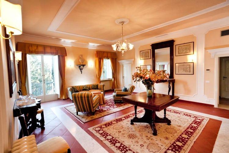 salotto Villa Vianci
