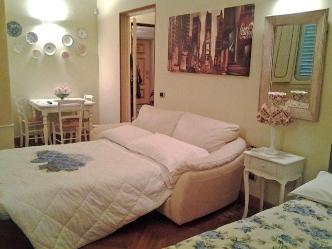 Il divano letto, perfetto per due persone