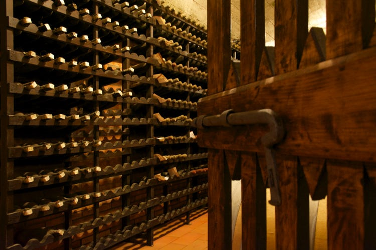 Fattoria Viticcio Rental Apartments & Vineyard: Cantina and wine cellar