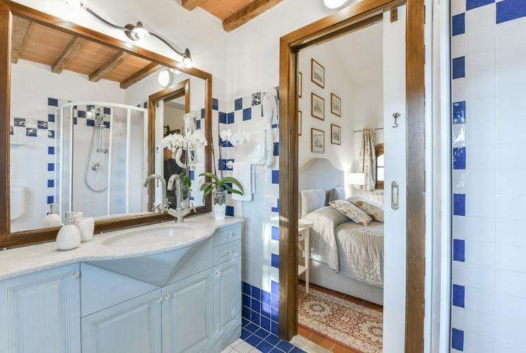 Fattoria Viticcio Rental Apartments & Vineyard: apartments with en suite bathrooms